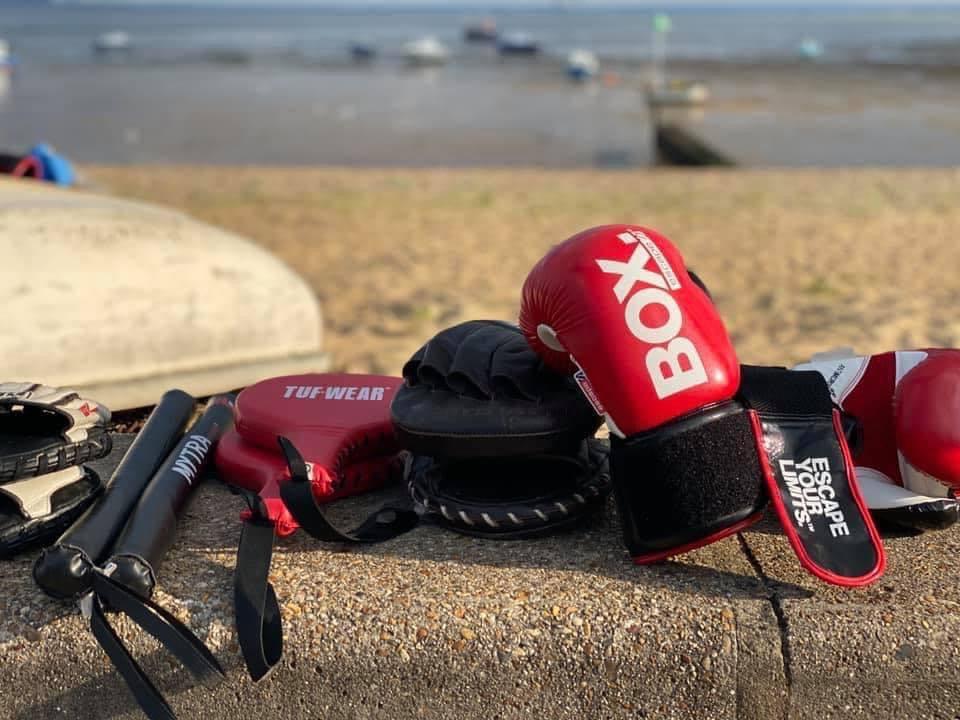 Ladies Beach Boxing