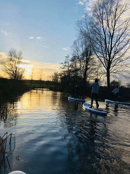 Sunset River SUP