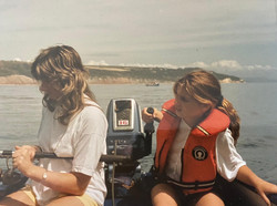Out on the water from a young age