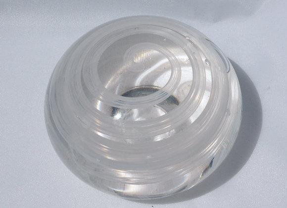 Memorial Glass - Opal White