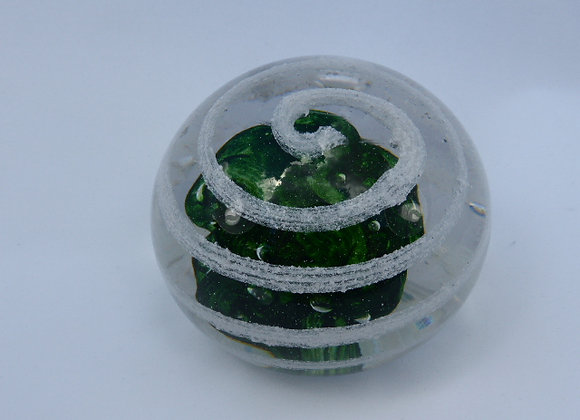 Memorial Glass - Aventurine Green