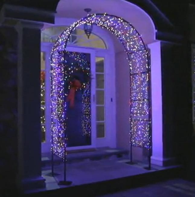 Bethlehem Lights Lit Archway