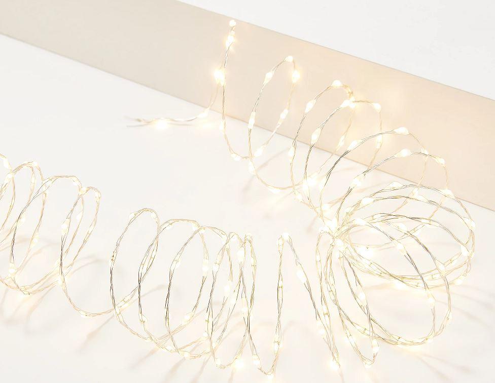 Bethlehem Lights Plug-In Overlit Slim Wire Fairy Lights