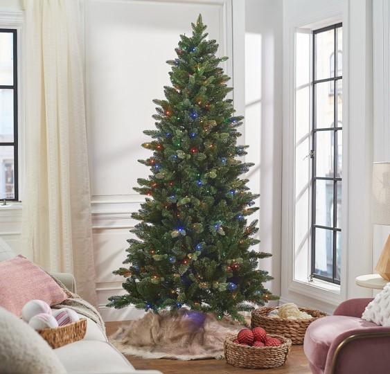 Bethlehem Lights 7' Green 2-in-1 Heritage Christmas Tree