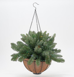 "Bethlehem Lights 24"" Heritage Hanging Basket"