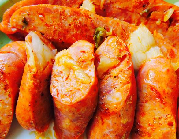 Kimchee Sausage