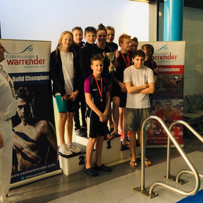 Swimmers win big at Warrender