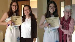 Palisades Community Chorus Donna Parris Scholarship Winner 2019 - Julia Costello