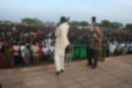 Global Harvest Ministries, Mark Davy Preaches in South Sudan