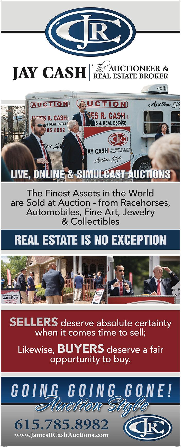 Jay  Cash   Nashville Real Estate Auctionoeer