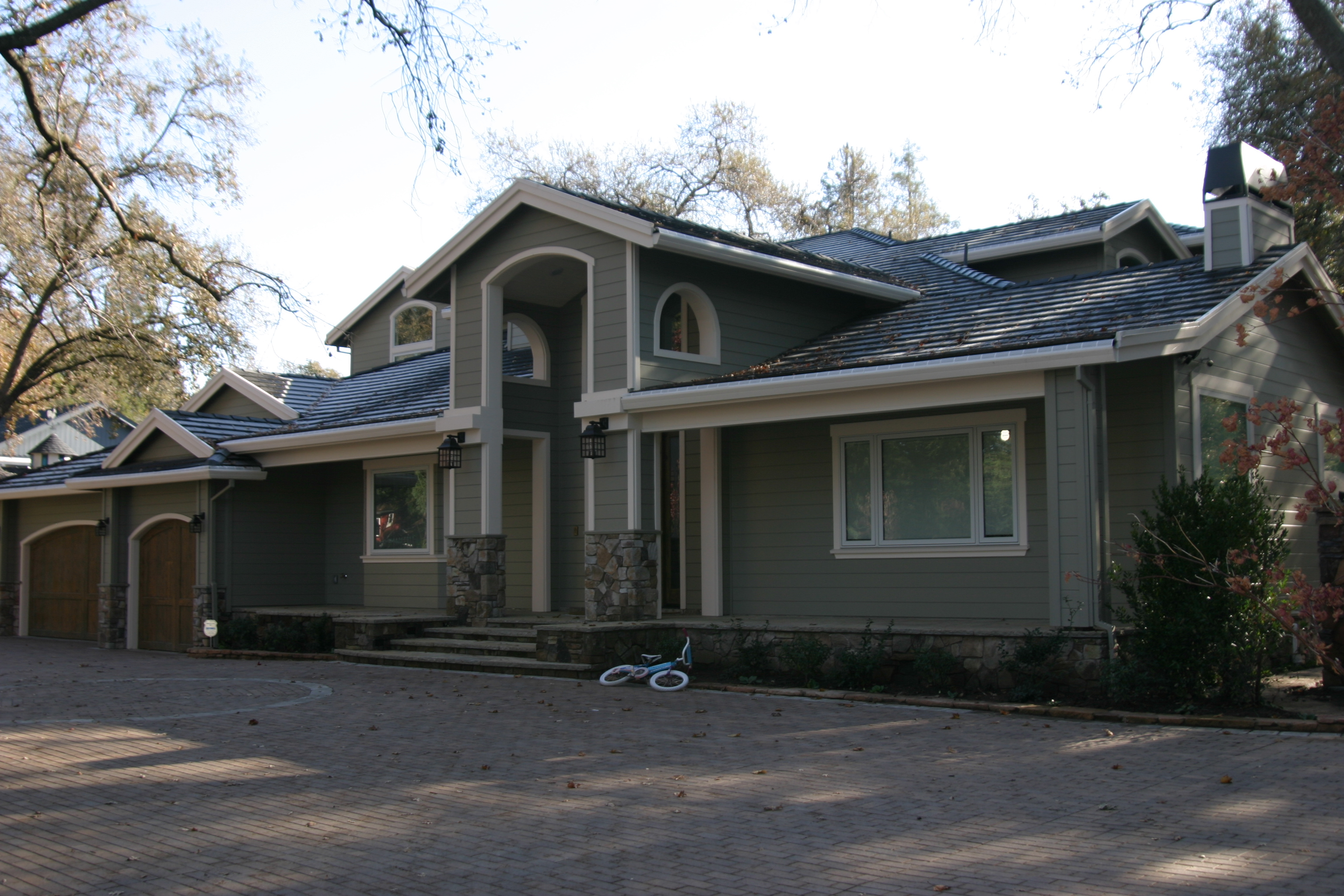 Main House - Front View