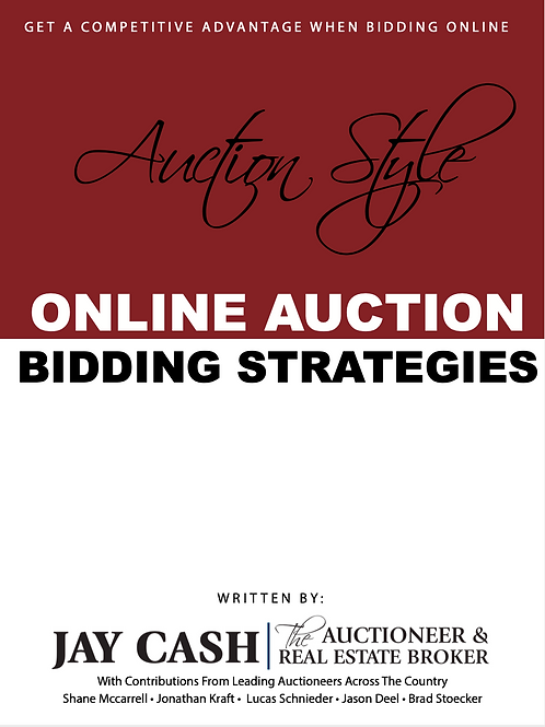 ONLINE AUCTIONS  BIDDING STRATEGY