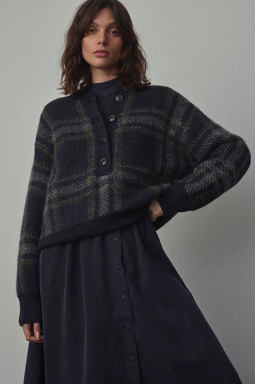 CLOSED   Pullover jacquard en mélange alpaca