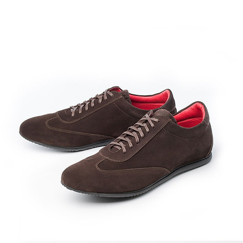 HARDRIGE SNEAKERS RACER HYDROVELOURS MOCCA
