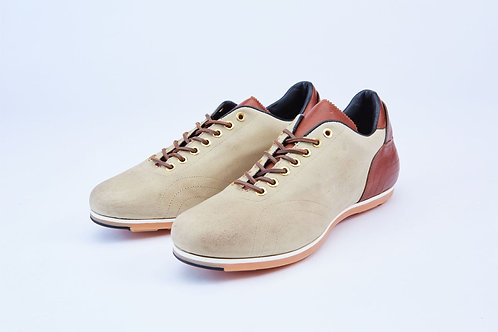 PANTOFOLA D ORO SUPERSTAR LEATHER-TRIMMED CANVAS SNEAKERS