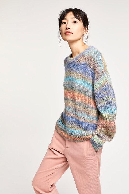 Closed - Pullover avec dégradé de couleurs