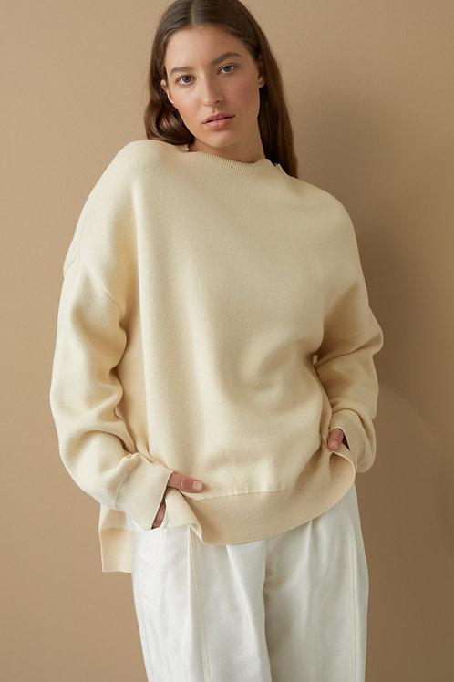 CLOSED Sweater couleurs contrastées
