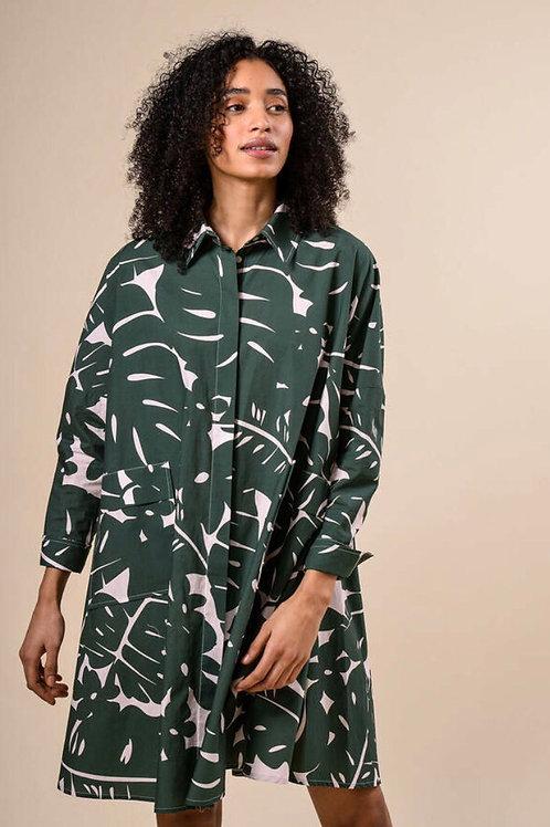 RIVER WOODS Robe oversize en coton Avec poches appliquées