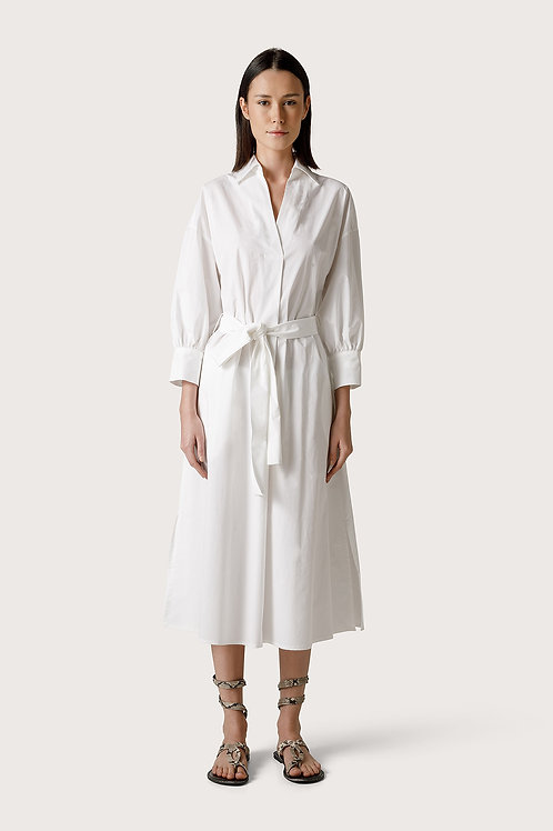 ROBE EN COTON STRETCH