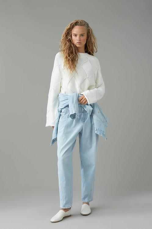 CLOSED Pullover grosse maille en coton biologique