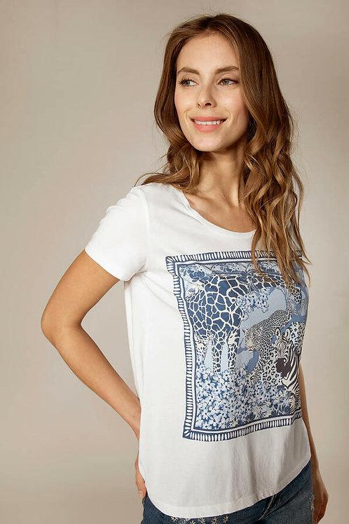 RIVER WOODS T-shirt basique à col rond en coton Sans stretch