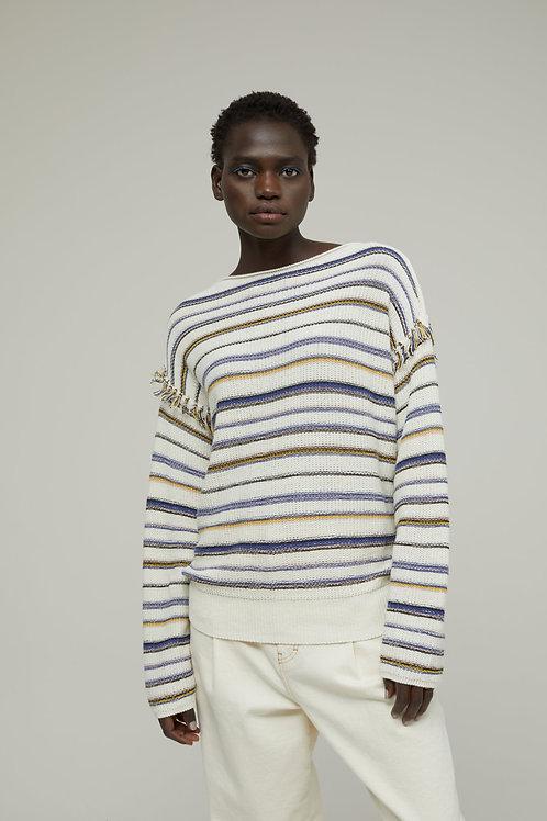CLOSED Pullover en lin Eco
