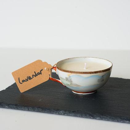 Lavender Oriental Tea Cup
