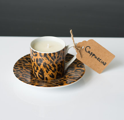 Leopard Cappuccino cup