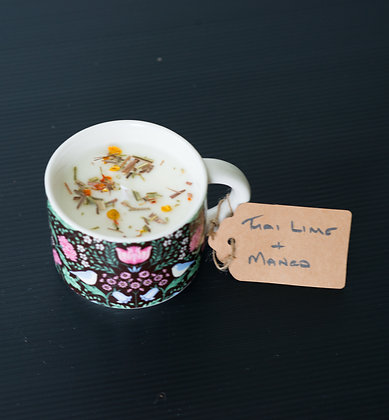 Floral Cup with Thai Lime & Mango