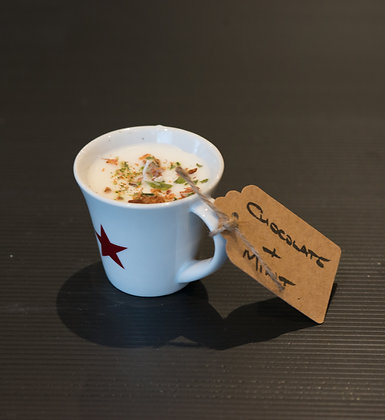Chocolate & Mint in Star Cup