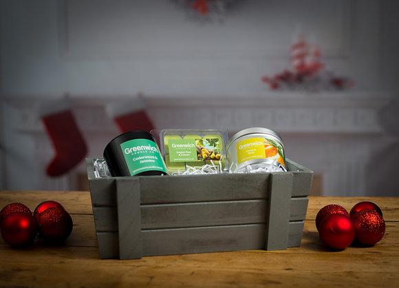 Fresh Gift Gray Crate