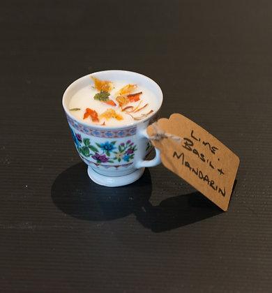 Lime, Basil & Mandarin Small Cup