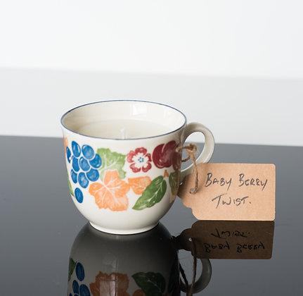Baby Berry Twist in Tea Cup