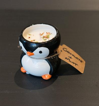 Chocolate Mint in Penguin Pot