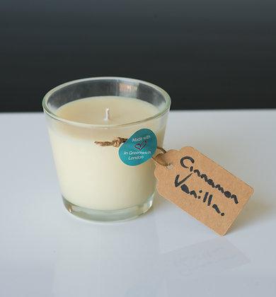 Cinnamon Vanilla in Tapered Glass