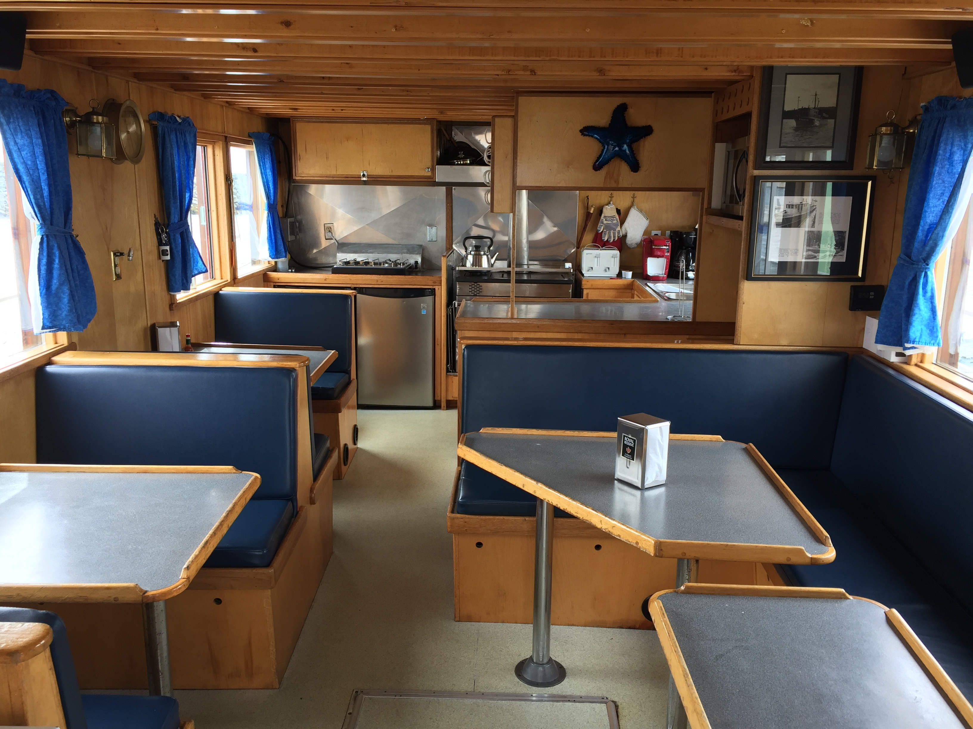 Galley and Dining Room