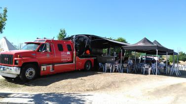 Camión Estrella Galicia Grifos de cervez