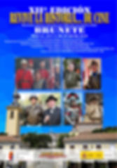 Cartel oficial evento Brunete Codex Belix
