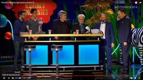Gala Premios Ilustres Ignorantes - escena final en la barra con grifo cerveza