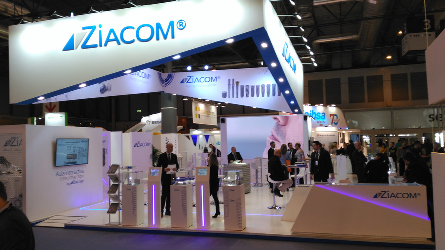 Stand Ziacom - Expodental 2018