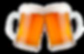 brindis con jarras de cerveza