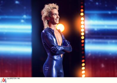 Téo Lavabo sur la scène de La France a un Incroyable Talent