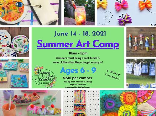 Summer Art Camp #3 (June 14-18)