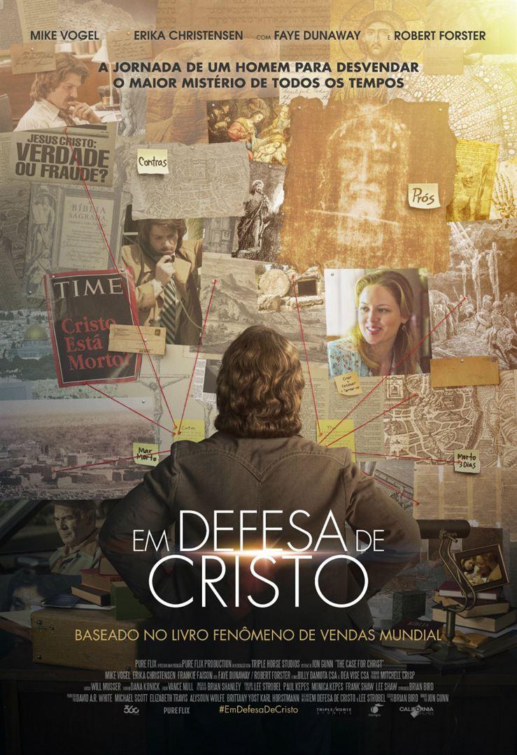 Cartaz Em Defesa de Cristo