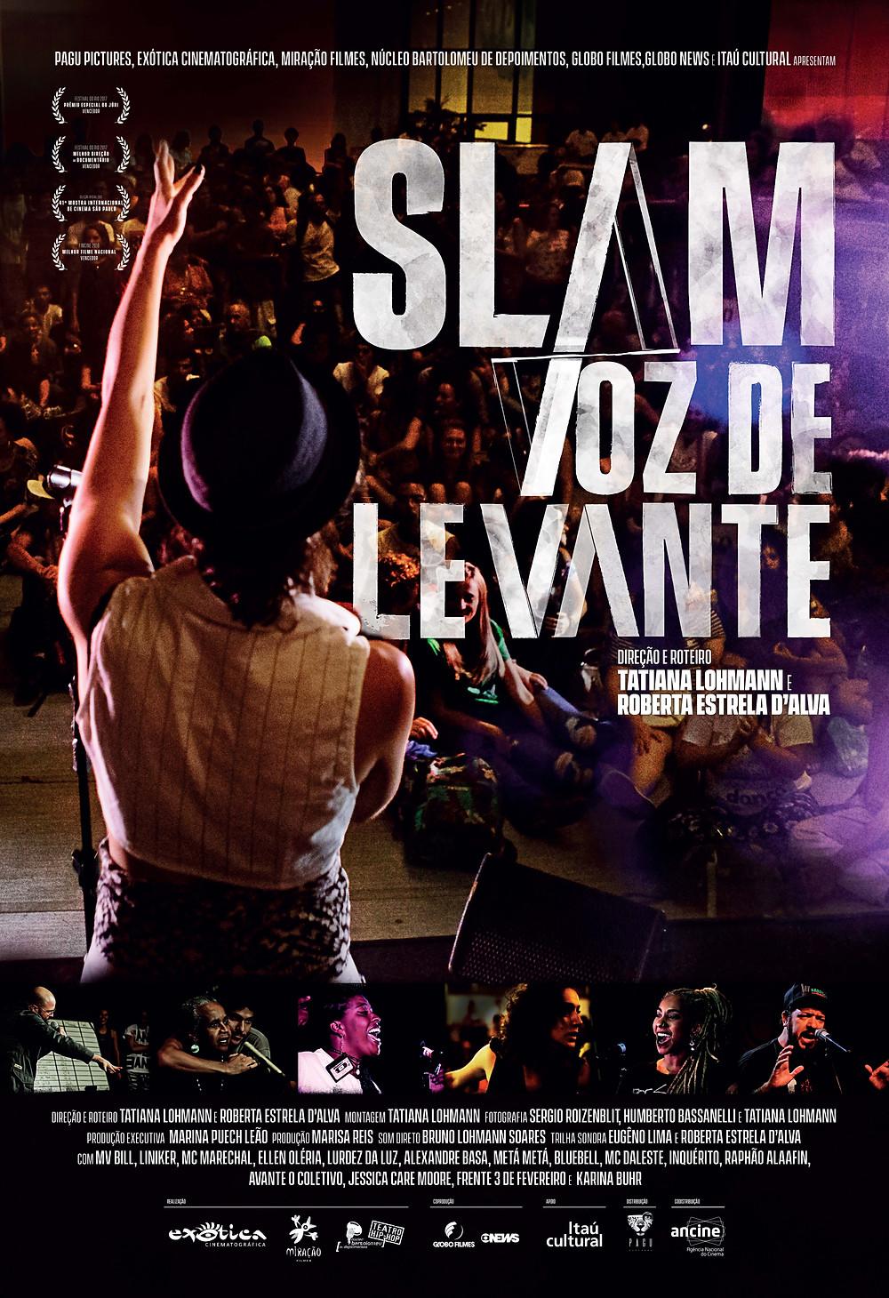 """cartaz """"Slam - Voz de Levante"""""""