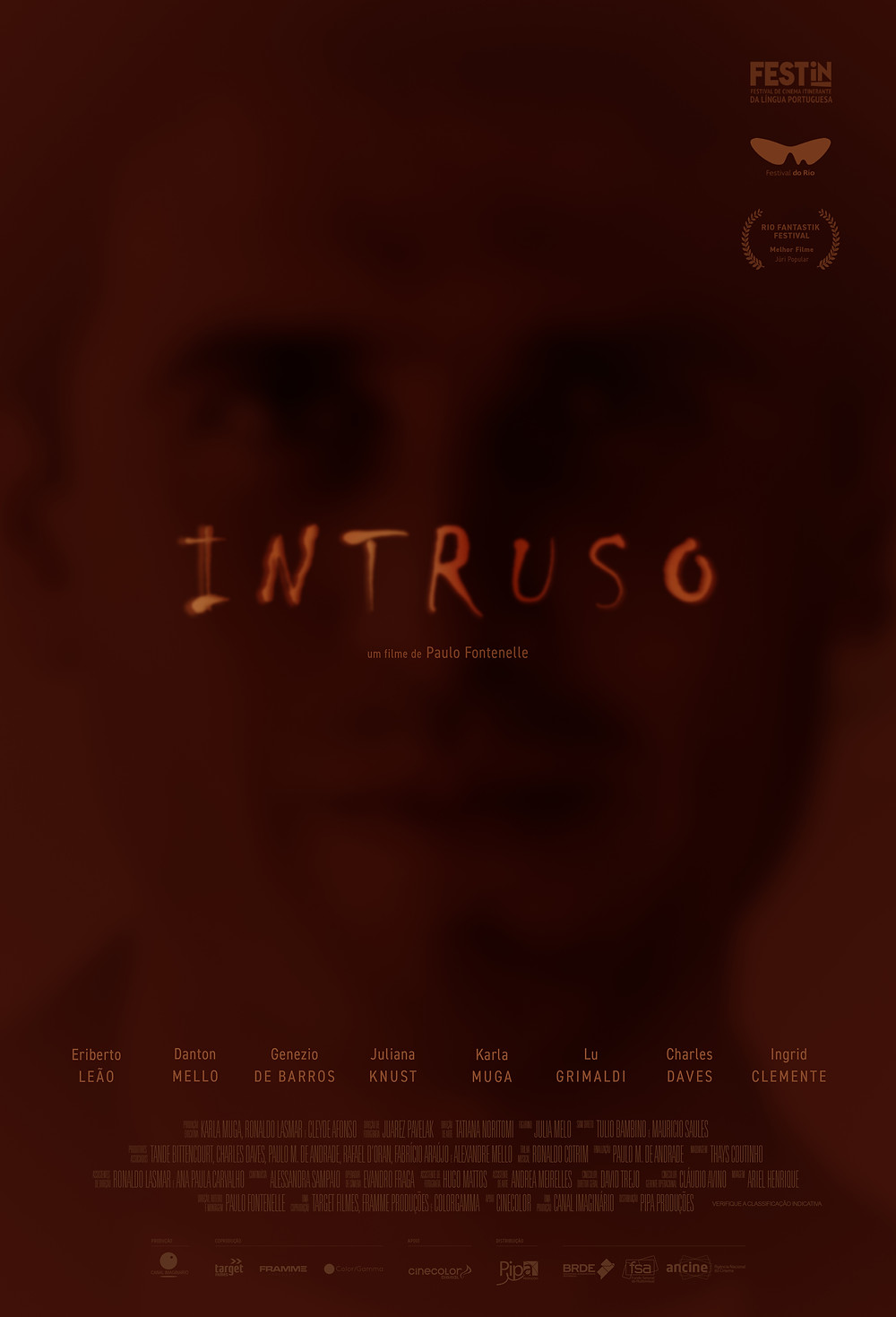 "Cartaz ""Intruso"""