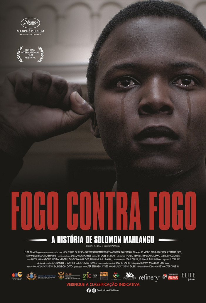 """""""Fogo Contra Fogo"""" traz a luta de Solomon Mahlangu pelo fim do apartheid"""