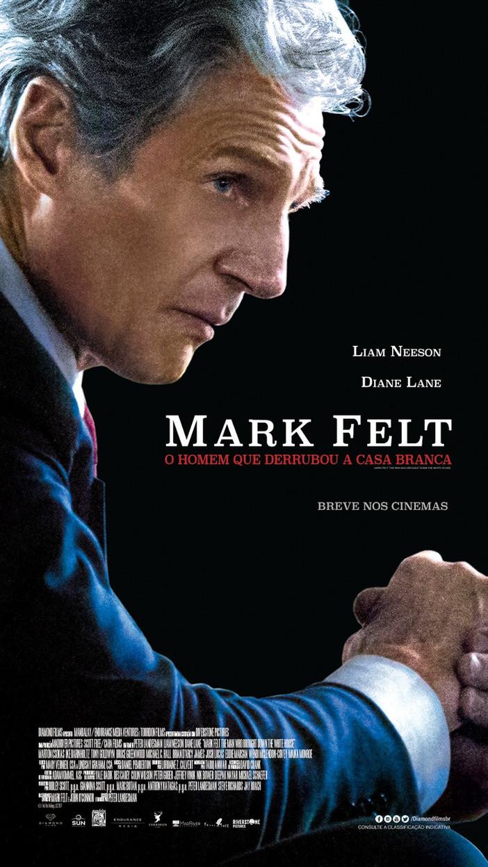 """Liam Neeson em """"Mark Felt, o homem que derrubou a Casa Branca"""""""