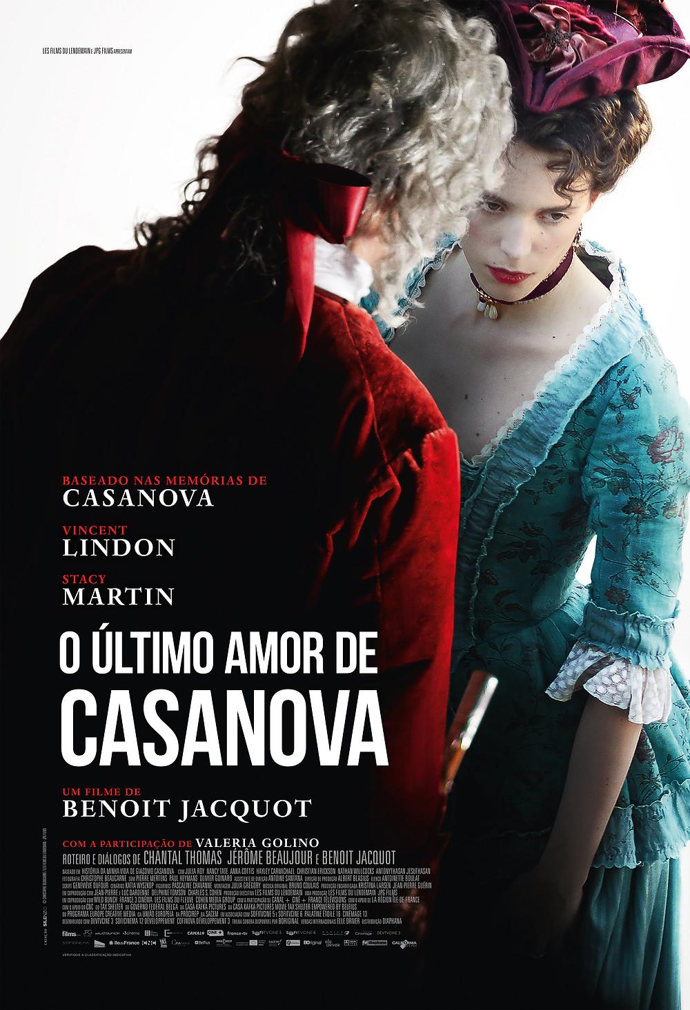 """Cartaz de """"O Último Amor de Casanova"""""""
