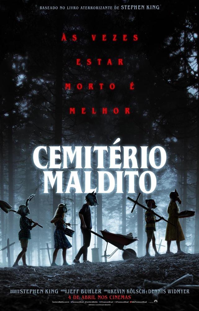 Poster Cemitério Maldito